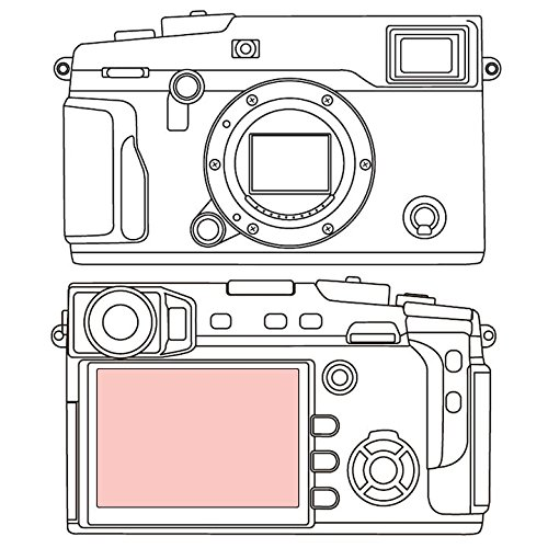 Martin Fields Overlay Plus Screen Protector with Advanced Glass Hard Coating for FujiFilm X-Pro 2 by Martin Fields
