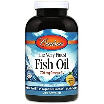 Nutrigold triple strength omega 3 fish oil for Carlson fish oil amazon
