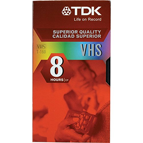 (TDK T-160 VHS Video Tapes - 10 Pack)