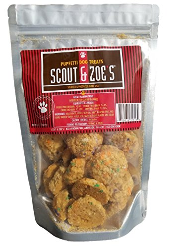 Scout and Zoe's Pupfetti Dog Treats – All Natural and Made in The USA
