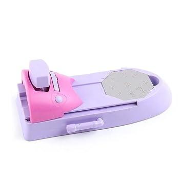 Metalico Diseños Impresora de uñas Set DIY Patrón Stamper ...