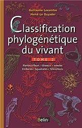 Classification phylogénétique du vivant vol.2