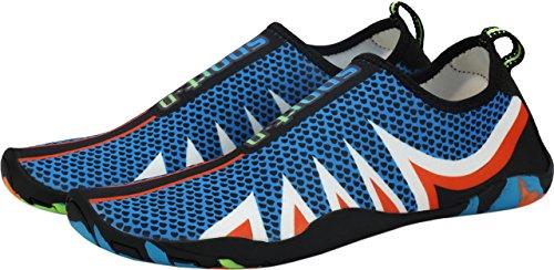 Aquaschuhe Strandschuhe Herren Strand Surfschuhe Blau Aqua Gaatpot Damen Schuhe Blue Sommer Schwimmschuhe Wasserschuhe Rutschfest Badeschuhe wAqnI8a