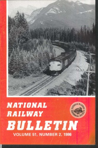 - NATIONAL RAILWAY BULLETIN V51n2 Keystone Train Amtrak Fast Mail Rochester + 1986