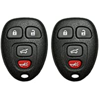 2 QualityKeylessPlus Remote Replacement 4 Button (Hatch) Keyless Entry FCC ID:OUC60270 FREE KEYTAG