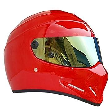 Casco de Moto Casco de fibra de vidrio material Flip Up 4 Seasons Scooter casco para