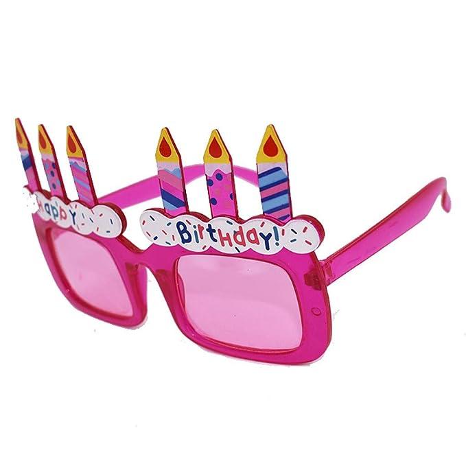 Gafas para fiestas Divertido personalizadas Feliz cumpleaños ...