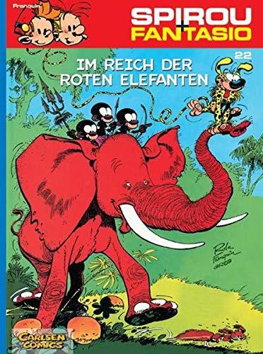 Spirou And Fantasio Band 22  Im Reich Der Roten Elefanten