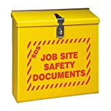 MSDS Cabinet, 13-1/2 In. W, 4-3/4 In. D