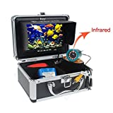 "Eyoyo Original 15m Professional Fish Finder Underwater Fishing Video Camera 7"" Color HD Monitor 1000TVL HD CAM Infrared Light"
