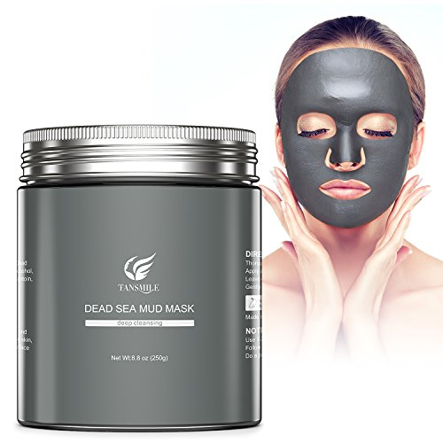 Dead Sea Mud Mask, Tansmile Natural Dead Sea Mud Clay Mask D