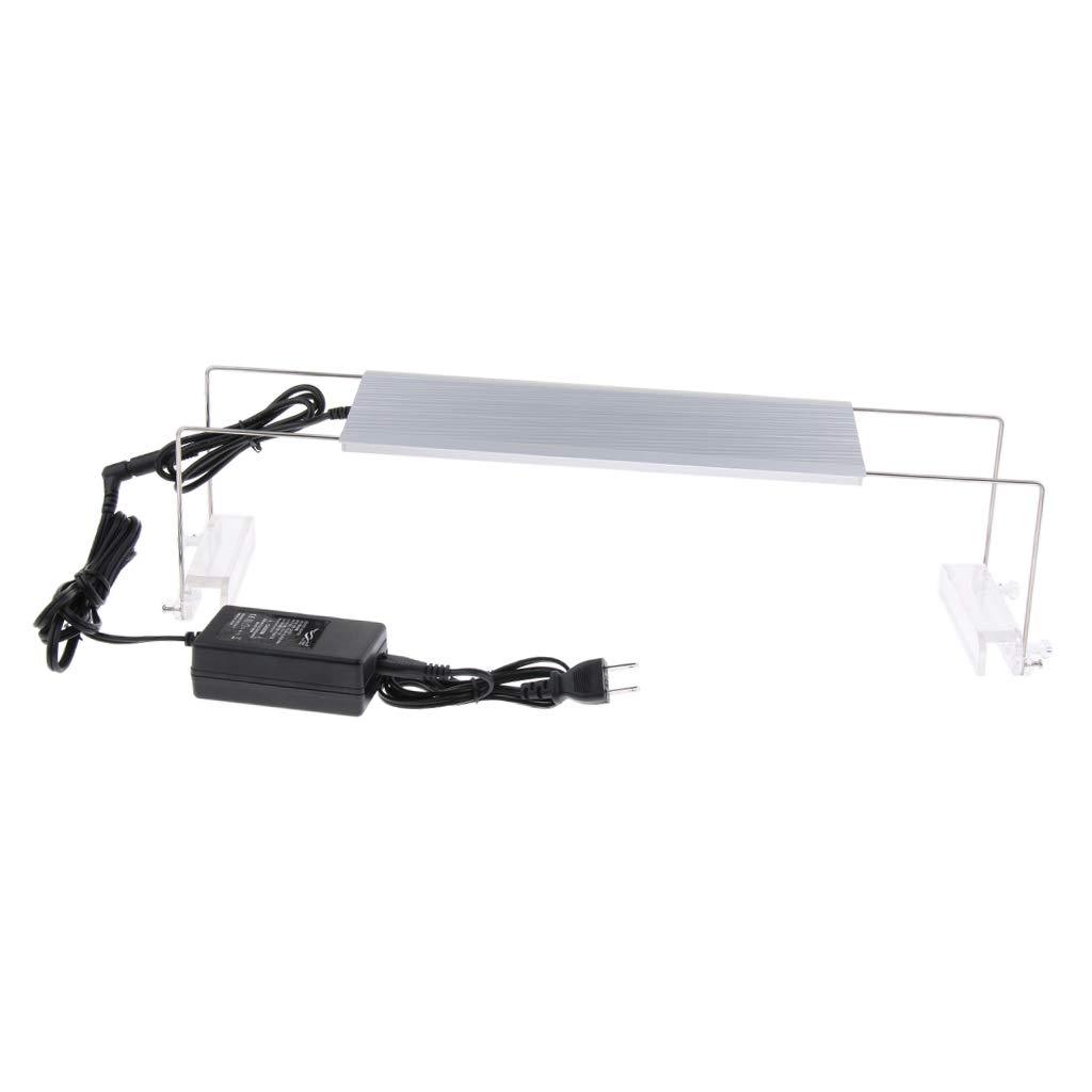 Baosity Aquarium LED Lighting for Fish Tank RGB LED with Extendable Brackets