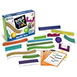 Learning Resources Tumble Trax Magnetic Marble Run, STEM Toy, 28 Piece Set, Ages 5+