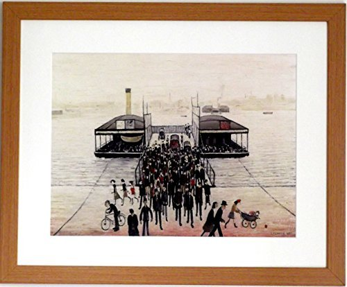 L S Lowry Large Framed Speciality