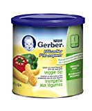Gerber Vegetable, Corn Snack, 42g canister (6 pack)