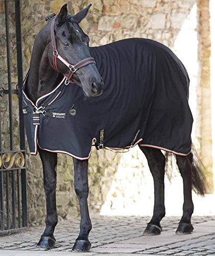 Rambo Grand Prix Helix Stable Sheet 75 Black/Tan by Horseware