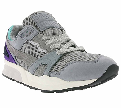 Puma - Zapatillas de Piel para hombre gris gris Einheitsgröße gris