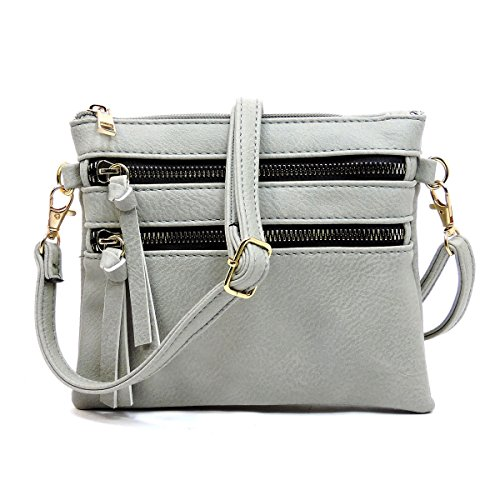Bag Pocket Americana Cement Functional Multi Crossbody F6xqZwxP