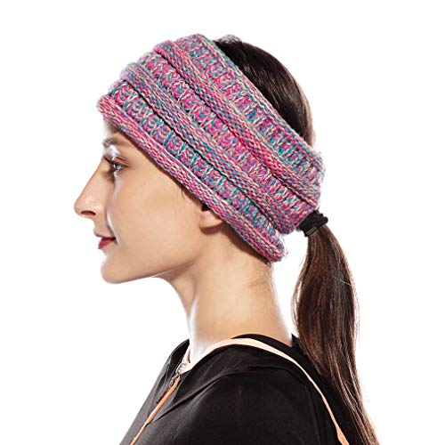 Women Winter Hats Ponytail...