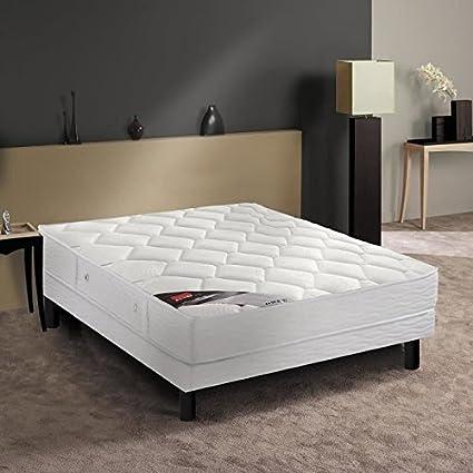 Epeda scola Conjunto colchón + somier 140 x 190 cm 21 cm ...