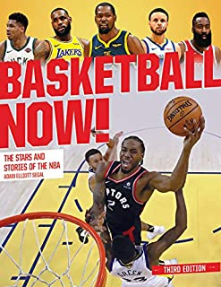 Book Cover: Basketball Now!: The Stars and Stories of the NBA