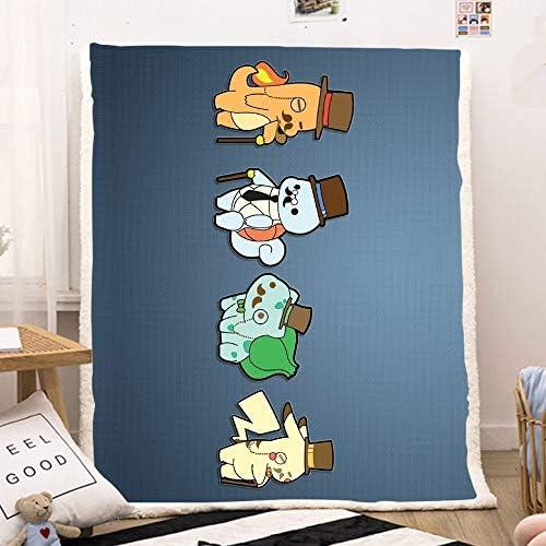 NEW Pokemon Bulbasaur Fleece Blanket 150 x 200 cm US Seller