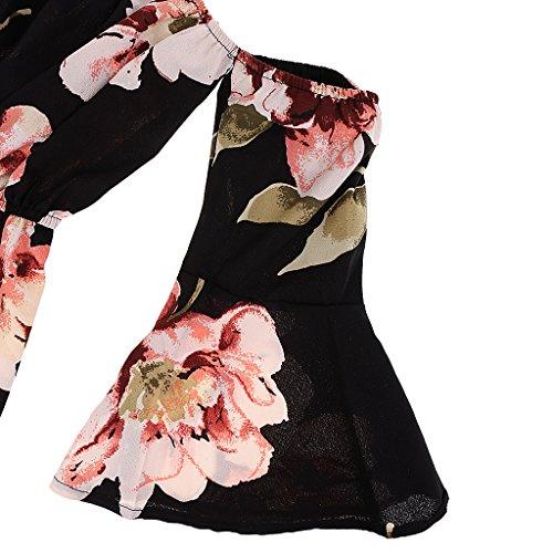 Vestidos Respaldo Floral Trajes De Sin Vestido Mamelucos Moda Fiesta Sharplace Vestir Mujer Ropa qwSvEY