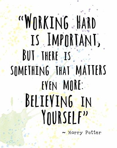 Harry Potter Inspirational Quotes Amazon.com: Wall Art Print by ArtDash ~ Inspirational Quote  Harry Potter Inspirational Quotes