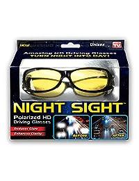 Ontel Night Sight | HD anteojos de sol polarizados de visión nocturna para conducción | Hombres y mujeres, anti reflejos, resistente a los arañazos, elegante, como se ve en la TV
