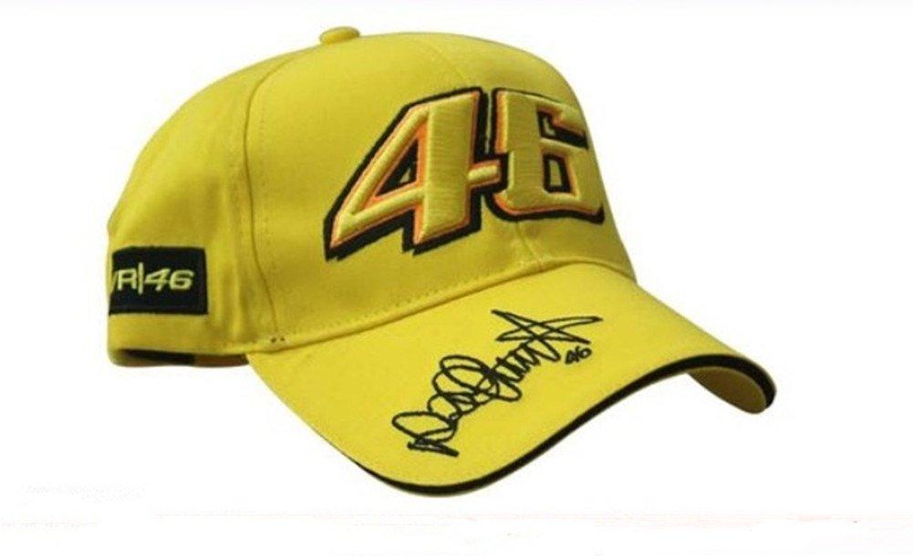 CZY Amarillo MotoGP Valentino Rossi 46 Gorro de béisbol Gorra de ...