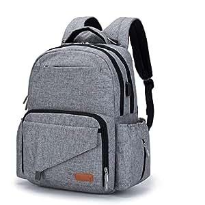 Amazon.com : Ankommling Diaper Bags Backpack Multi