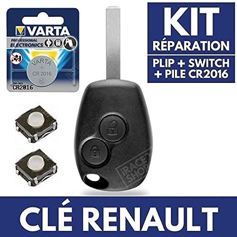 Caja Plip mando a distancia carcasa llave Renault Modus ...