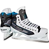 Bauer Reactor 7000 Hockey Goalie Skates Senior 6.0 EE black/white/blue