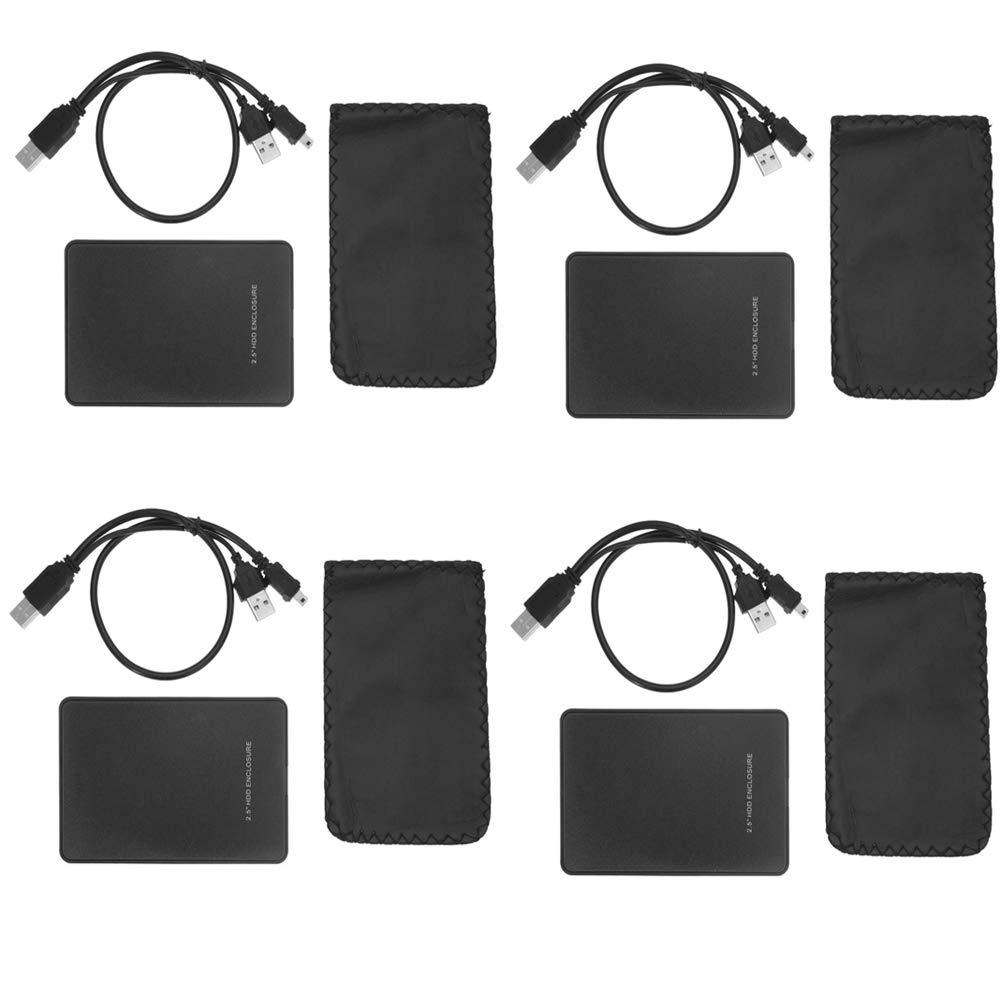 Fliyeong 2.5 USB 3.0 SATA HD HDD Bo/îtier Externe Bo/îtier pour Disque Dur Externe