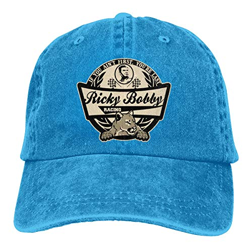 Ginu Ricky Bobby Racing Baseball Cap for Mens and Womens