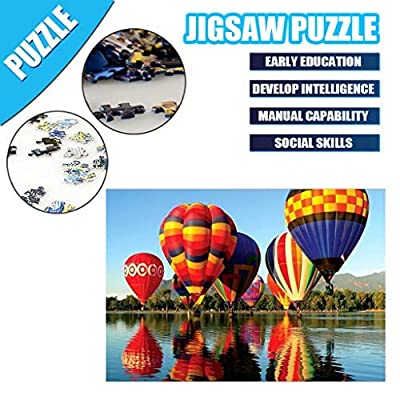 GDJGTA Adult Children Puzzle Puzzle Toy 1000PC Puzzle Landscape Patte DIY Personalized Gift Fun Family Game: Toys & Games