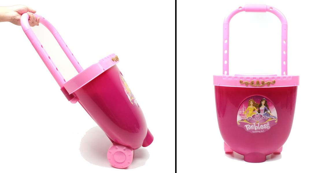 O.B Toys&Gift Girls Vanity Dressing Table Toy Traveling Case Castle Design Battery Operated w/ Chair , Lights , Sounds & Fashion Accessories , Kids Pretend Make Up Beauty Play Set