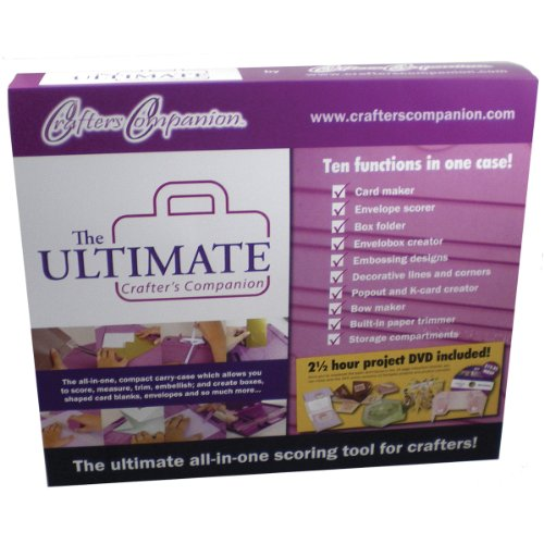 Ultimate Crafter's Companion Ultimate Tool -- 10 Paper Crafting Tools in a Convenient Carrying Case