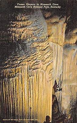 Caves Post Card Frozen Niagara Mammoth Cave National Park, Kentucky, USA 1954