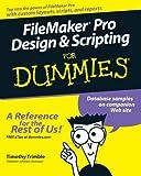 Filemaker pro Design & Scripting for Dummies