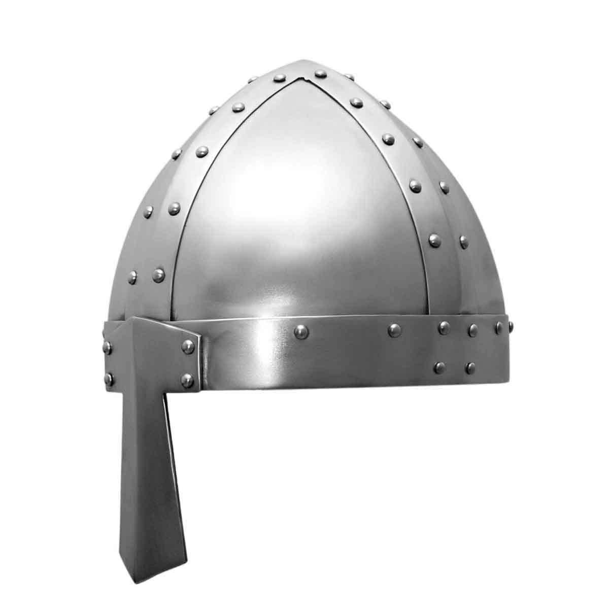 Reenactment Spangenhelm 1 Role-Play LARP Medieval Viking Nasal Helmet theater Fancy Dress