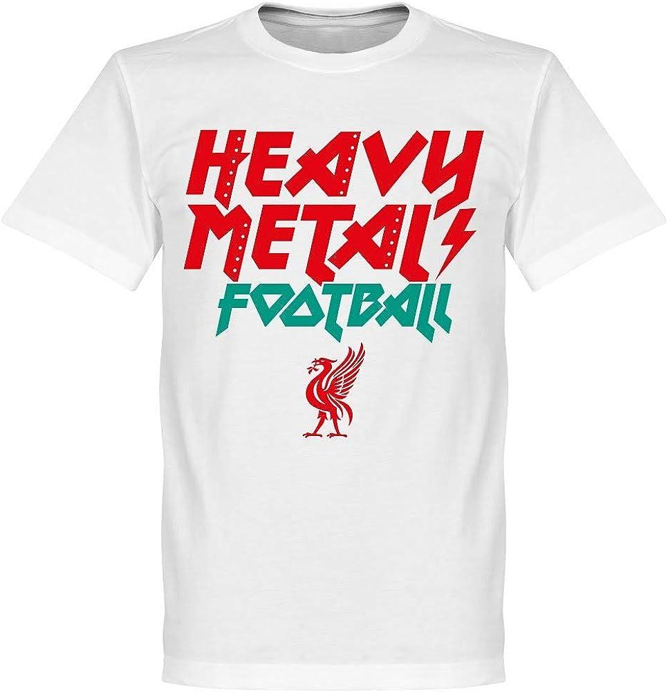 Heavy Metal Camiseta de fútbol – Blanco Blanco Blanco XS: Amazon.es: Ropa y accesorios