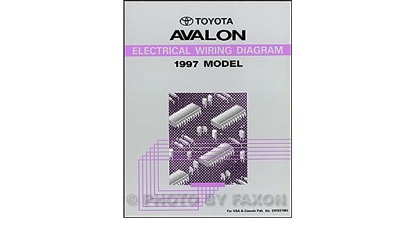toyota avalon wire diagram 1997 toyota avalon wiring diagram manual original toyota amazon  1997 toyota avalon wiring diagram