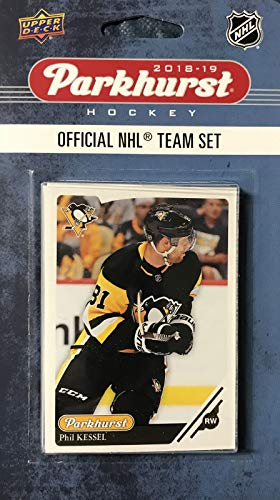 Upper Deck Pittsburgh Penguins 2018 2019 PARKHURST NHL Series Factory Sealed Team Set Including Sidney Crosby, Evgeni Malkin, Jake Guentzel and 7 Others