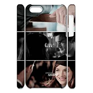 VNCASE Fifty Shades of Grey Phone 3D Case For Iphone 5C [Pattern-1]