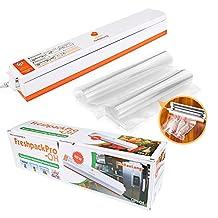 Vacuum Packing Machine Food Sealer Heat Sealer Set with 8Pcs Vacuum Bags