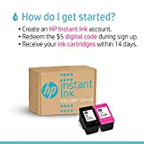 HP Instant Ink $5 Prepaid Code, use to enroll in HP Instant Ink, HPs Ink Delivery Service [Online