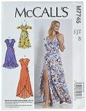 McCall's Patterns M7745A50 Misses' Dresses
