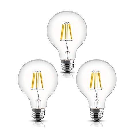 Best led light bulbs for bathroom vanity Ideas Pack Modvera 60w Equal G25 Led Light Bulb Decorative Bathroom Vanity Globe Light Bulb Azlit Pack Modvera 60w Equal G25 Led Light Bulb Decorative Bathroom