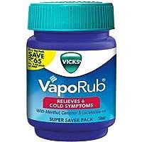 1 X 50ml Vicks Vaporub Relief From Headache, Cough, Cold, Flu, Blocked Nose